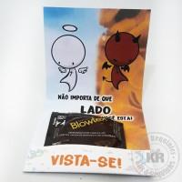 CARD PRESERVATIVO PERSONALIZADO