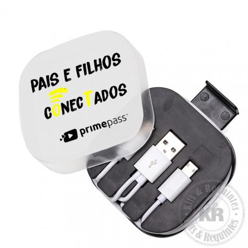 CABO DE DADOS 3 EM 1 COM ESTOJO