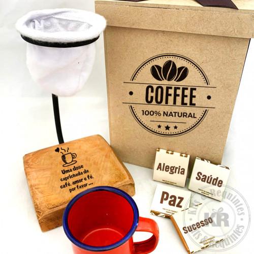 KIT COADOR DE CAFÉ