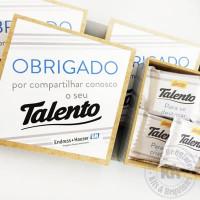 CAIXA DE TALENTOS - 6 UNIDADES
